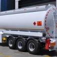 Алюминиевый полуприцеп бензовоз OKT-Trailer