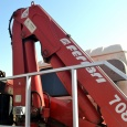 Манипулятор Foton Auman грузовик бортовой с краново-манипуляторной установкой Ferrari 708