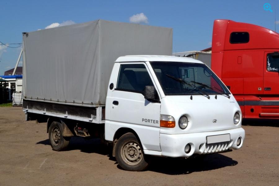 Продаётся бортовой тентованный грузовик HYUNDAI PORTER 2008г.