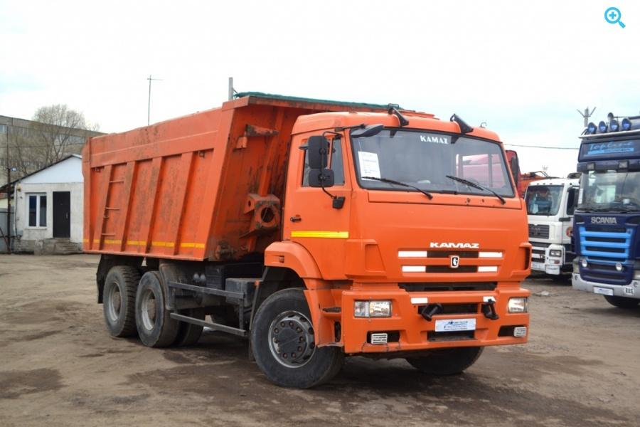 Грузовик самосвал КАМАЗ 6520-63