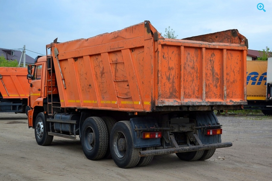 КАМАЗ 6520 - самосвал 2012г.в.