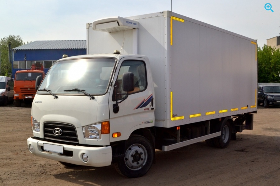 Грузовик рефрижератор Hyundai VT (HD78). 2016 год выпуска.