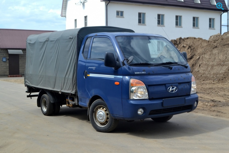 Грузовой борт-тентованный Hyundai Porter 2