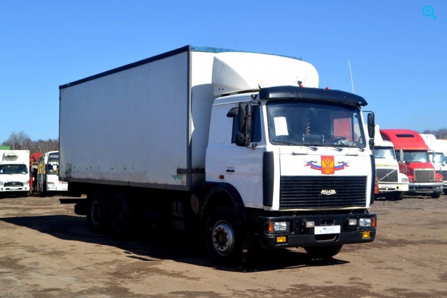 фургон МАЗ Купава 6731