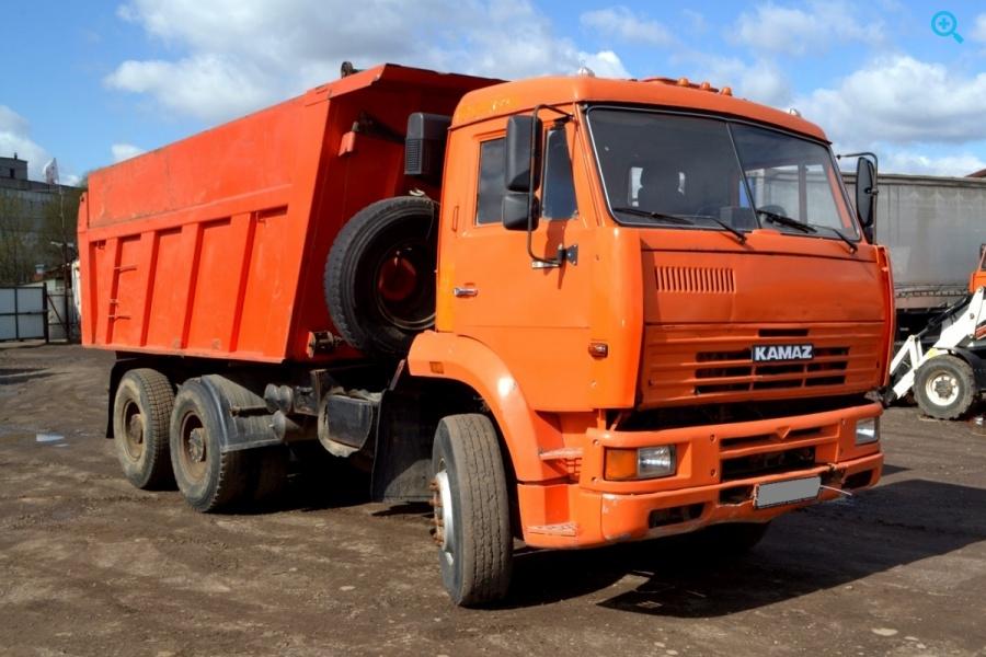 Самосвал Камаз 6520-036. Год выпуска - 2006.