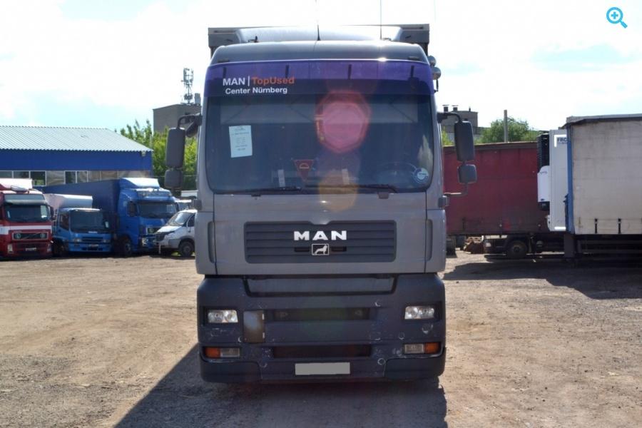 Грузовик шторный MAN TGA 24.440. Год выпуска 2007