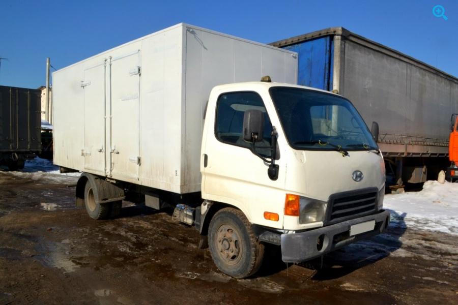 Грузовик фургон Hyundai HD72