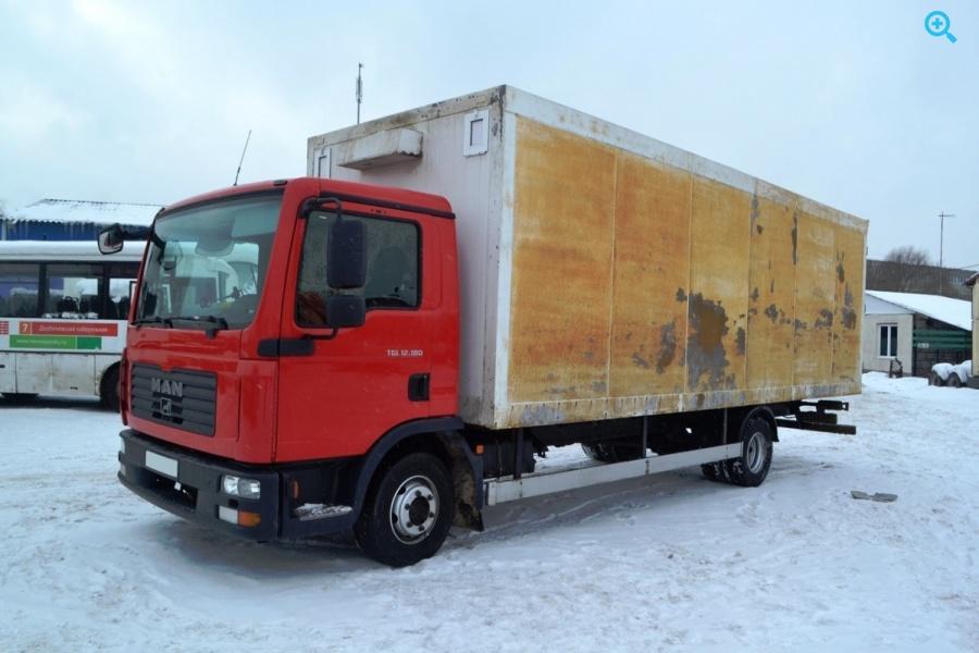 Фургон грузовой изотермический MAN TGL 12.180. Год выпуска 2008.