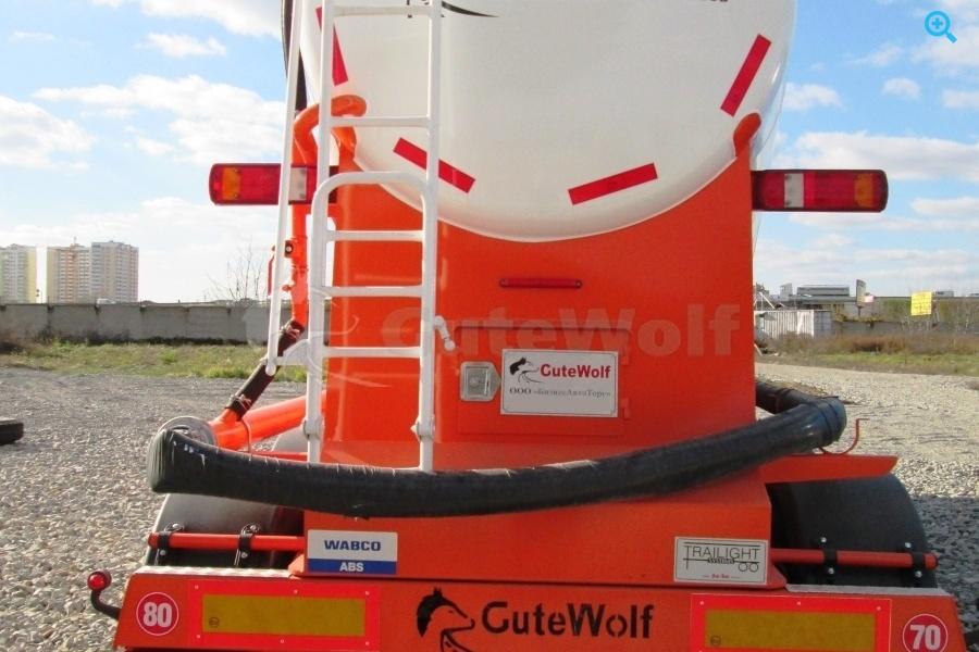 Цементовоз вакуумный GuteWolf