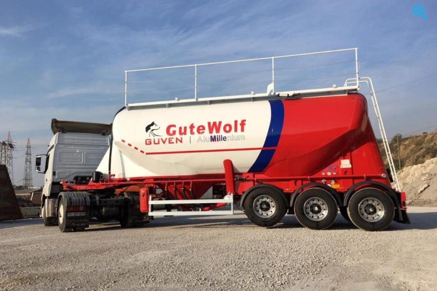 Алюминиевый цементовоз GuteWolf