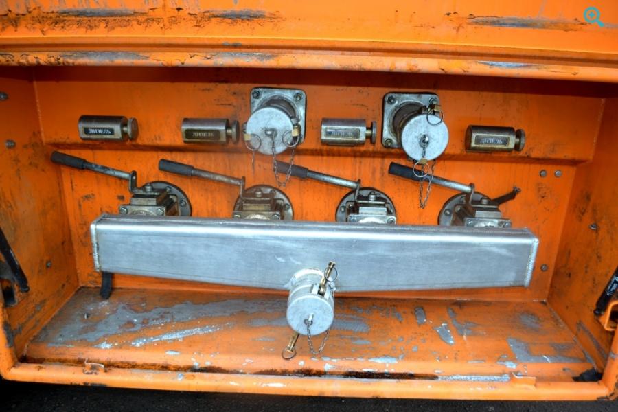 Полуприцеп цистерна алюминиевая Сеспель 964843.