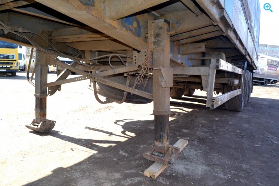 Полуприцеп бортовой П - образная штора Krone SDP 27.