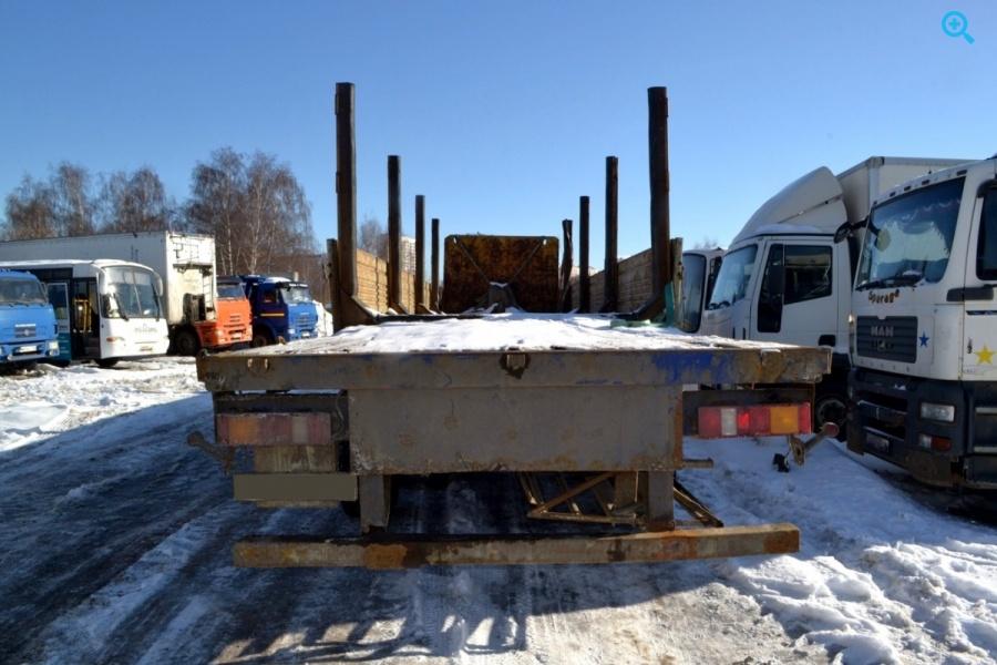 Полуприцеп бортовой МАЗ – 975800-043.