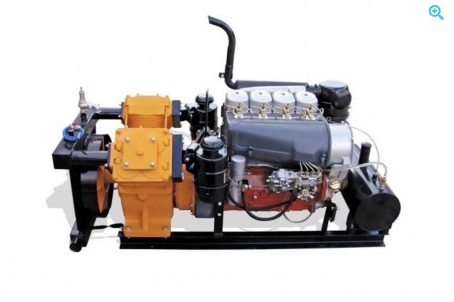 Bekomsan Esinti 102 с дизельным двигателем
