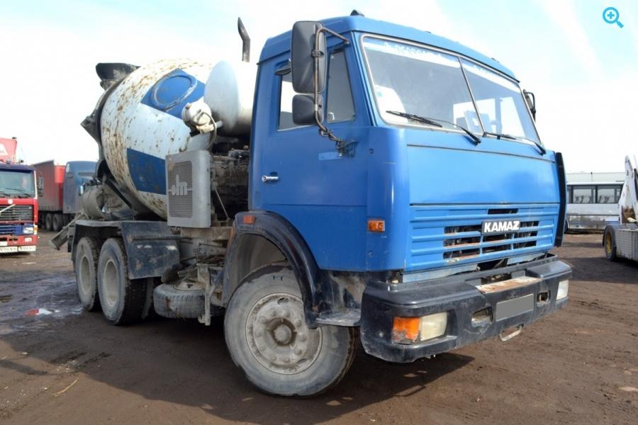 Автобетоносмеситель 58147с на шасси КАМАЗ-53229R.