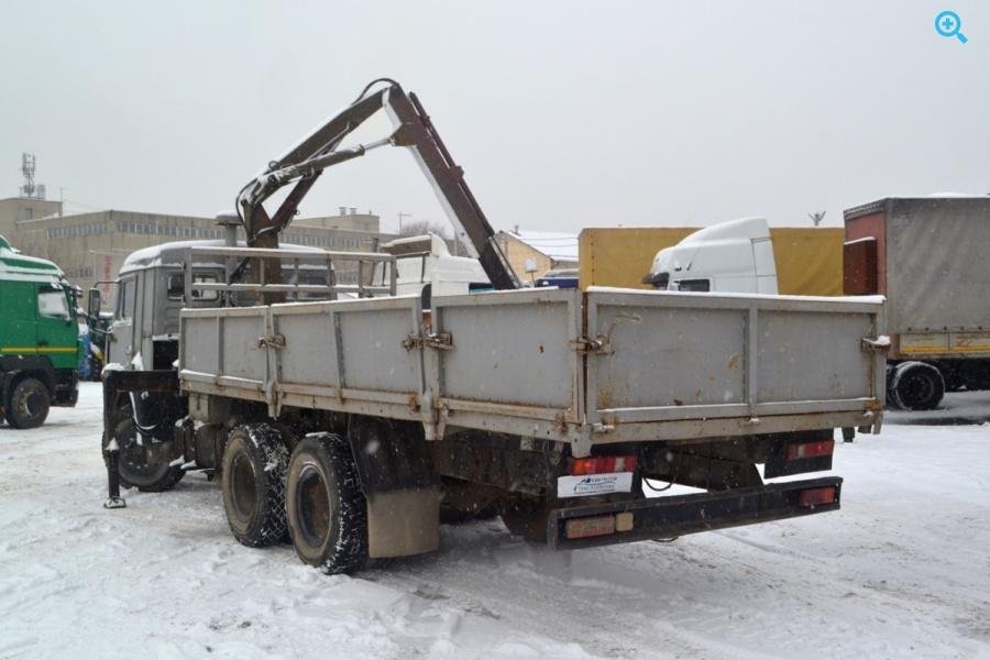Бортовой грузовик манипулятор (установка «БАКМ») на базе КамаЗ 53215N
