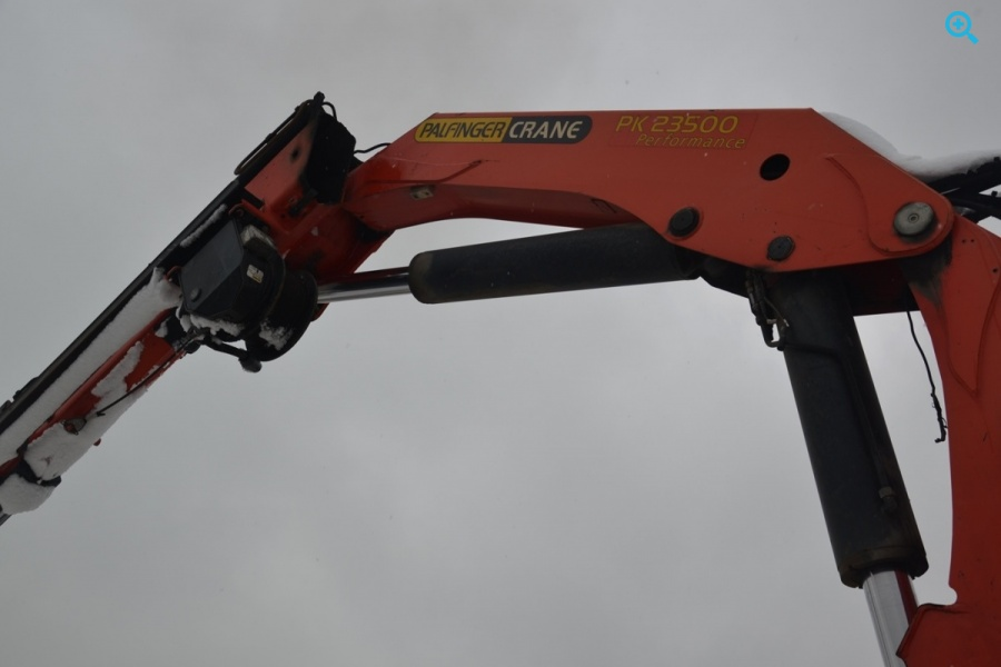 Гидравлический кран-манипулятор (тросово-гидравлический бурильный) Palfinger PK 23500 Performance на базе КамаЗ 5328КС