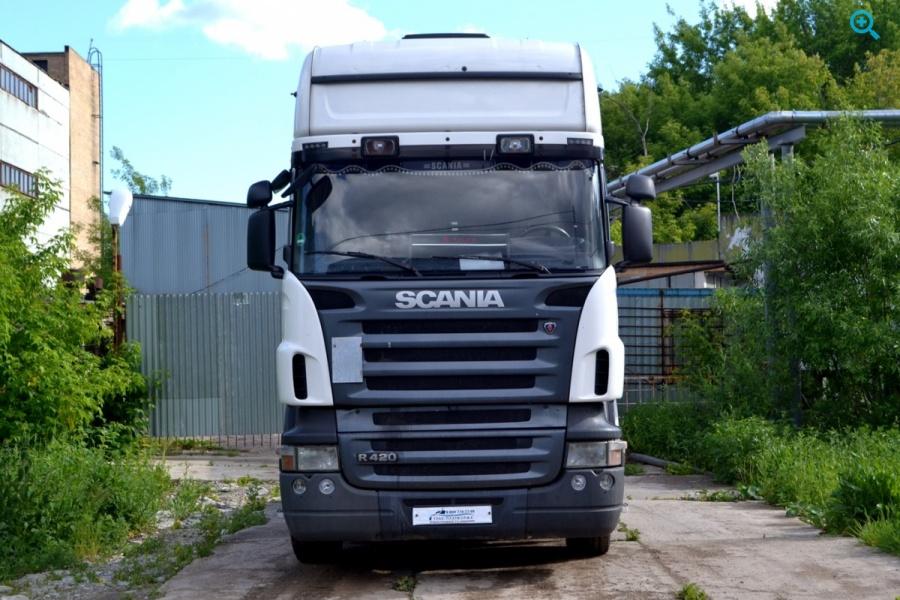 Седельный тягач SCANIA R420 LA4X2HNA., Год выпуска 2008