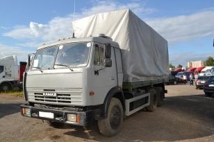 Купить Камаз 53215N грузовик тентованый