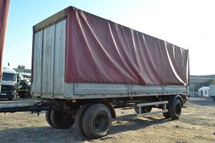 Купить тентованный прицеп МАЗ 837810 Б/У в России