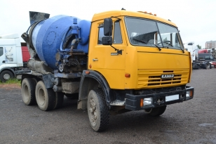 Автобетоносмеситель  КАМАЗ 53205   210 л.с.     1990 г.в.