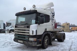 Седельный тягач Scania P114. Год выпуска 2006