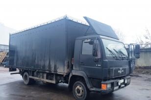 Грузовой фургон MAN 8/163 год выпуска  1998 .