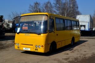Пригородный автобус ISUZU Богдан А 09204