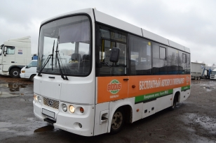 Автобус BAW 2245 городского типа. Год изготовления 2012