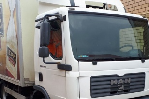 Грузовой фургон изотермический MAN TGL 10.180. Год выпуска 2009.