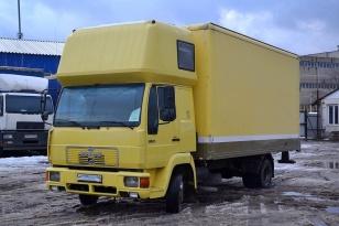 Грузовой фургон изотермический MAN 8.163 L2000