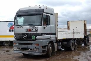 Бортовой грузовик MERCEDES-BENZ 2540 ACTROS (БДФ)