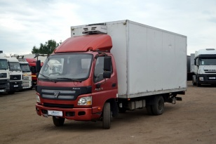 Грузовик-фургон рефрижератор Foton Aumark с гидробортом