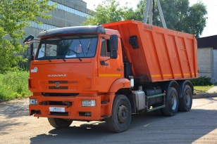 КАМАЗ 6520-43 самосвал, год выпуска 2017