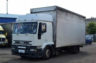 Продается бортовой грузовик фургон IVECO