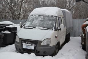 Тентованный грузовик Газ - 330232 (фермер грузопассажирский)