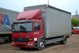 Mercedes-Benz 1217 ATEGO  шторный грузовик 6 тонник