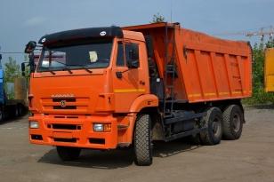 КАМАЗ 6520 - самосвал 2013г.в.