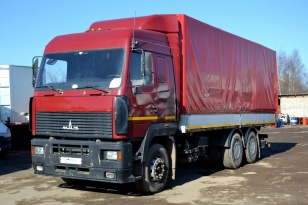 Грузовик Борт-Тент МАЗ 6312А8-360-010