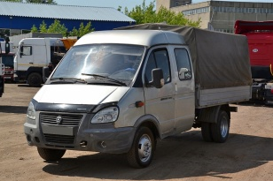 Тентованный грузовик Газ - 330232