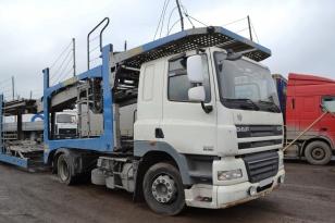 Седельный тягач DAF FT CF 85.360 Год выпуска 2012.