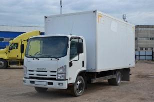 Грузовой изотермический фургон Isuzu NP