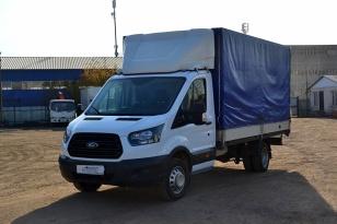 Бортовая тентованная платформа Ford Transit