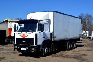 Грузовой фургон МАЗ Купава 6731