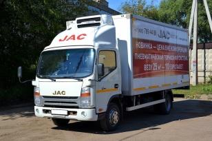 Грузовой фургон-рефрижератор JAC N75