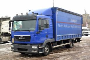 MAN TGL 8.220  шторно-бортовой грузовик 2013 г.в.