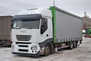 Шторный грузовик IVECO STRALIS