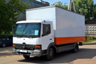 MERCEDES-BENZ ATEGO 815 грузовой фургон 2004г.в.