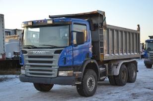 Самосвал SCANIA P6X400, год выпуска 2012