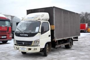 Грузовой фургон изотермический Foton Ollin BJ1069